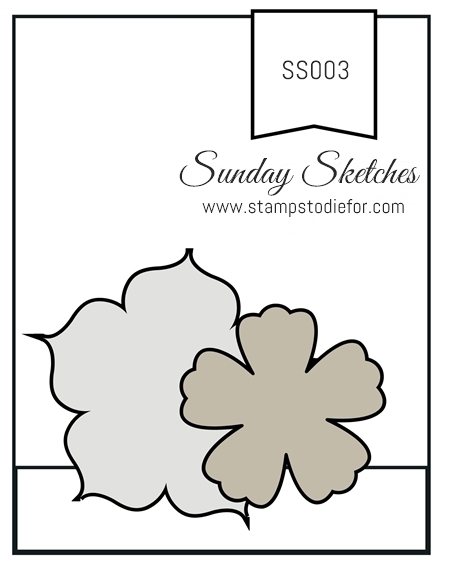 Stamps to Die for Sunday Sketches SS003 www.stampstodiefor.com