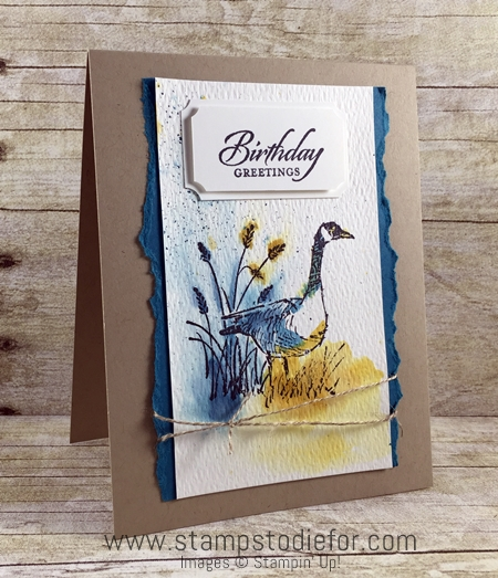 Just in CASE - Wetlands Stamp Set by Stampin' Up! www.stampstodiefor.com