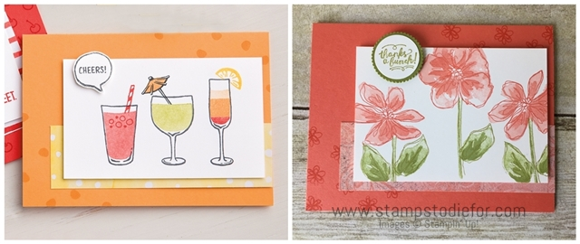 Just in CASE Card Series - Penned & Painted Stamp Set by Stampin' Up! www.stampstodiefor.com horz