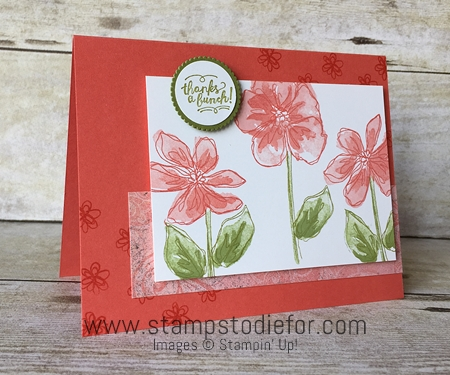Just in CASE Card Series - Penned & Painted Stamp Set by Stampin' Up! www.stampstodiefor.com