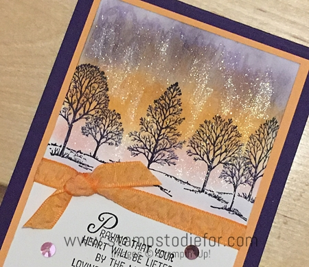 Color Your World International Blog Hop Lovely as a Tree stamp set by Stampin' Up! 4