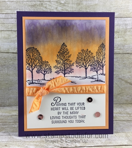 Color Your World International Blog Hop Lovely as a Tree stamp set by Stampin' Up! 3