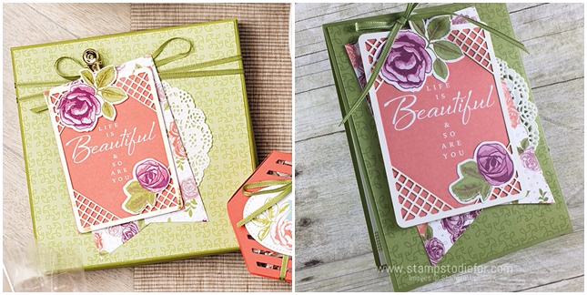 Just in CASE using the Petal Garden Memories and More Card Pack & Petal Garden Designers Series Paper (DSP)  by Stampin' Up! www.stampstodiefor.com horz