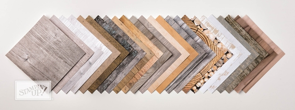Wood Texture Designer Series Paper Pack by Stampin' Up