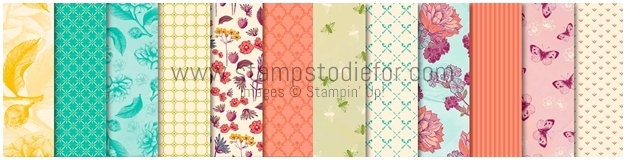 Tea Room Specialty Designer Series Paper by Stampin Up