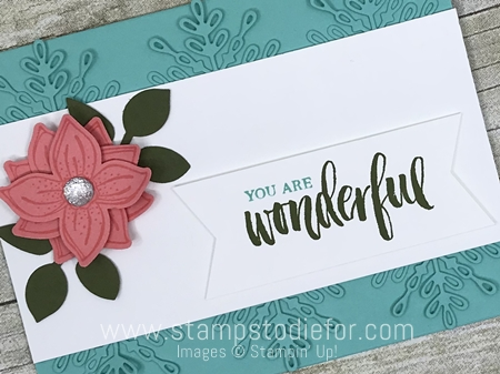 Just in CASE card using Pop of Petals Stamp Set and Punch and Swirly Snowflakes Thinlits Dies by Stampin Up www.stampstodiefor.com 2