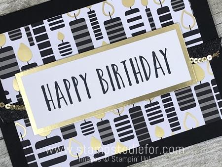 Sunday's Card Sketch – Happy Birthday Card