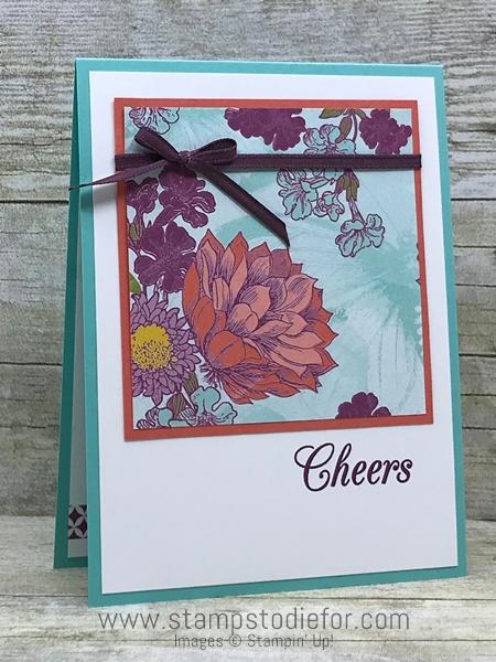 One Sheet Wonder Piece H – Cheers