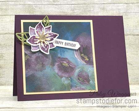 One Sheet Wonder OSW #loveitchopit Piece E Perennial Essence Designer Series Paper  by Stampin' Up!