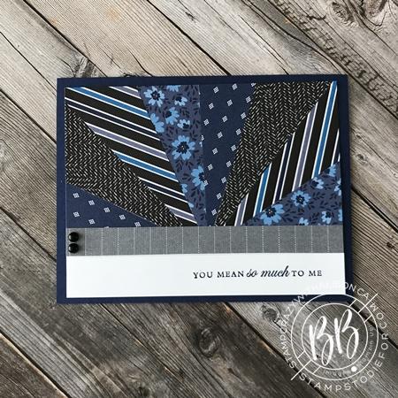 Paper Sunburst Technique – Well Suited Designer Series Paper