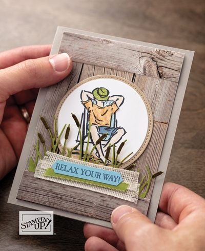 A Good Man Stamp Set by Stampin' Up! concept artists card