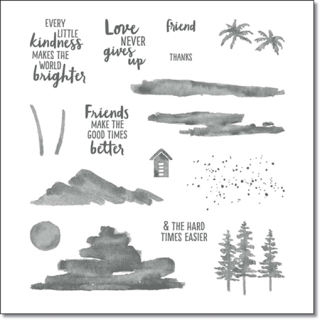 Waterfront Stamp Set by Stampin UP