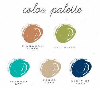 Color pallette just in case