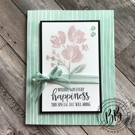 Popping Eye Shadow Stamping Technicque using Art Gallery Stamp Set by Stampin' Up!