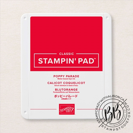 Stampin' Up! Poppy Parade Classic Stampin' Pad