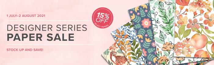 Stampin up paper sale