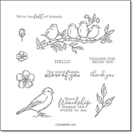 149468 Free as a Bird Stamp Set by Stampin' Up!