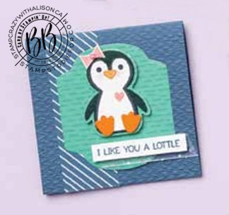 Penguin Place Stamp Set and Penguin Builder Punch by Stampin' Up!