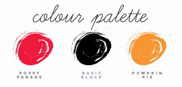 Penquin Place Stampin' Up! color palette