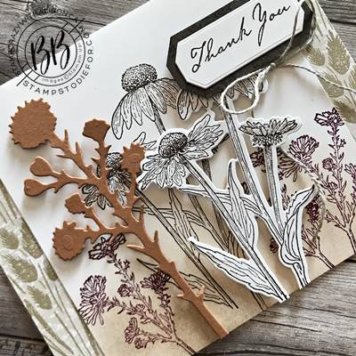 Just in Case – Harvest Meadow Thank You Card