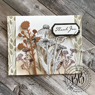 Border Buddies Just in CASE card page 44 using the Nature's Harvest stamp set by Stampin' Up!