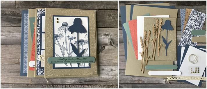 September Take & Make Card Class Kit – Nature's Harvest