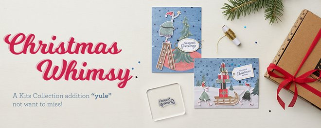 Newest Paper Crafting Kit Christmas Whimsy Ready to Order Today!