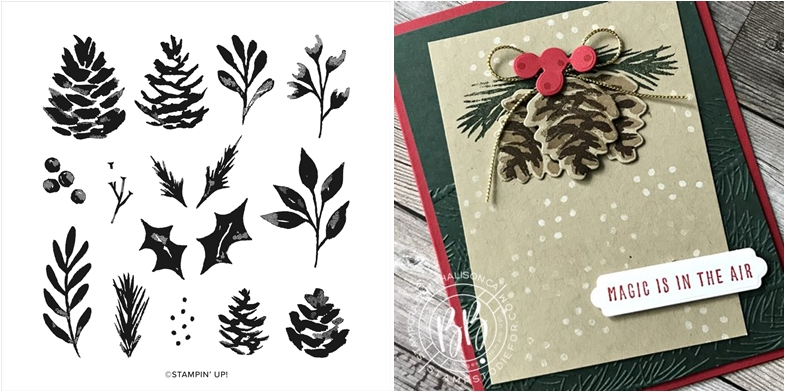 Christmas Season from Stampin' Up! Stamp Set and Card Sample