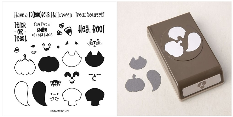 Cutest Halloween Stamp Set and coordinating Halloween Punch by Stampin' Up!