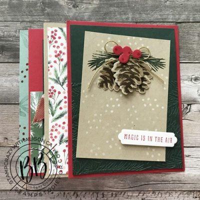 October Take & Make Card Class Kit