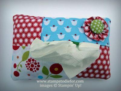 Single Tissue Holder