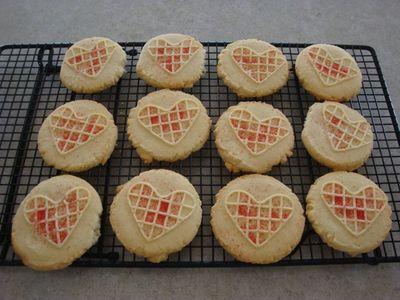Sweet Pressed Cookies