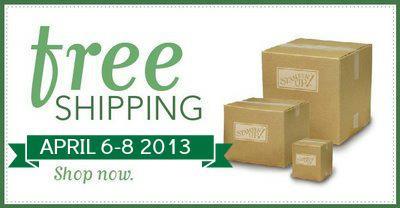 Free Shipping Stampin' Up! Blog