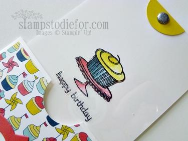 magic card, hand made birthday card
