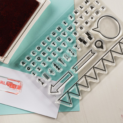 Designer Typeset Photopolymer