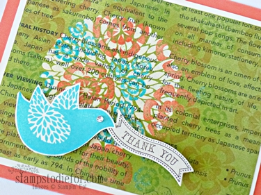 Emerging Color Technique How To week 13 stampin up