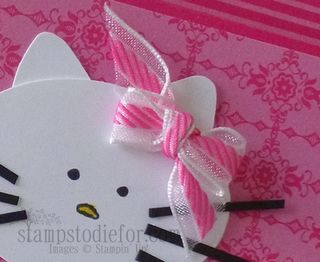 Hello Kitty stampin up paper crafting