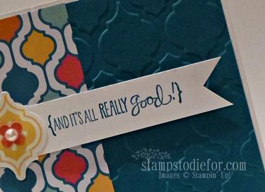 Ribbon Notch in Cardmaking