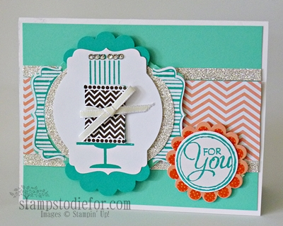 stampin up convention card gift from Debi Pippin