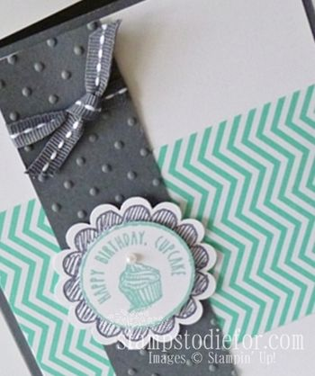 Stitched Grosgrain Ribbon Stampin Up