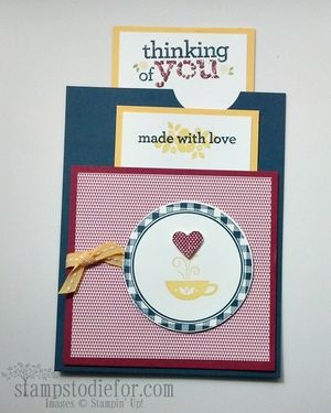 Kind & Cozy Double Slider Card Open 2
