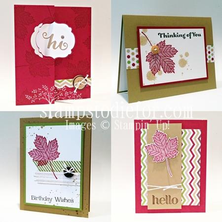 Magnificent Maple Stamp Set Suite