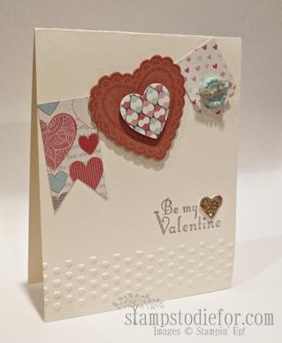 Hearts a Flutter stamp set