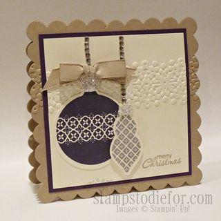 Ornament Keepsake Stamp set