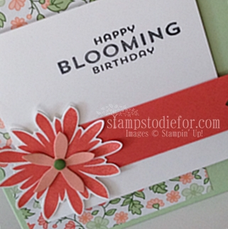 Flower patch happy blooming birthday 2