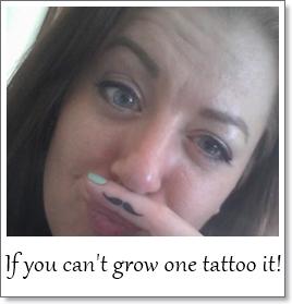 Danielle mustache