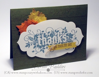 Seasonally Scattered Stampin up 1