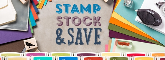 Stamp stock and save stampin up