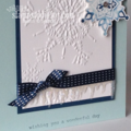 Week 41 Icicles card close up