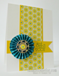 Accordion Flower Technique How To stampinup